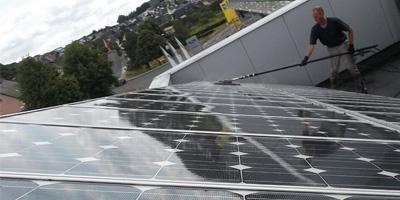 Limpeza de Painéis Solares