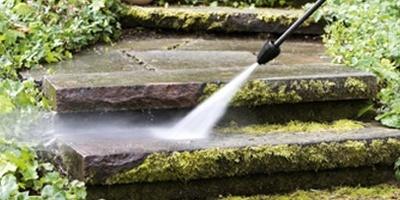 Limpeza de superfícies com musgo