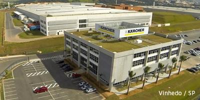 Fabricação Nacional Kärcher no Brasil em Vinhedo