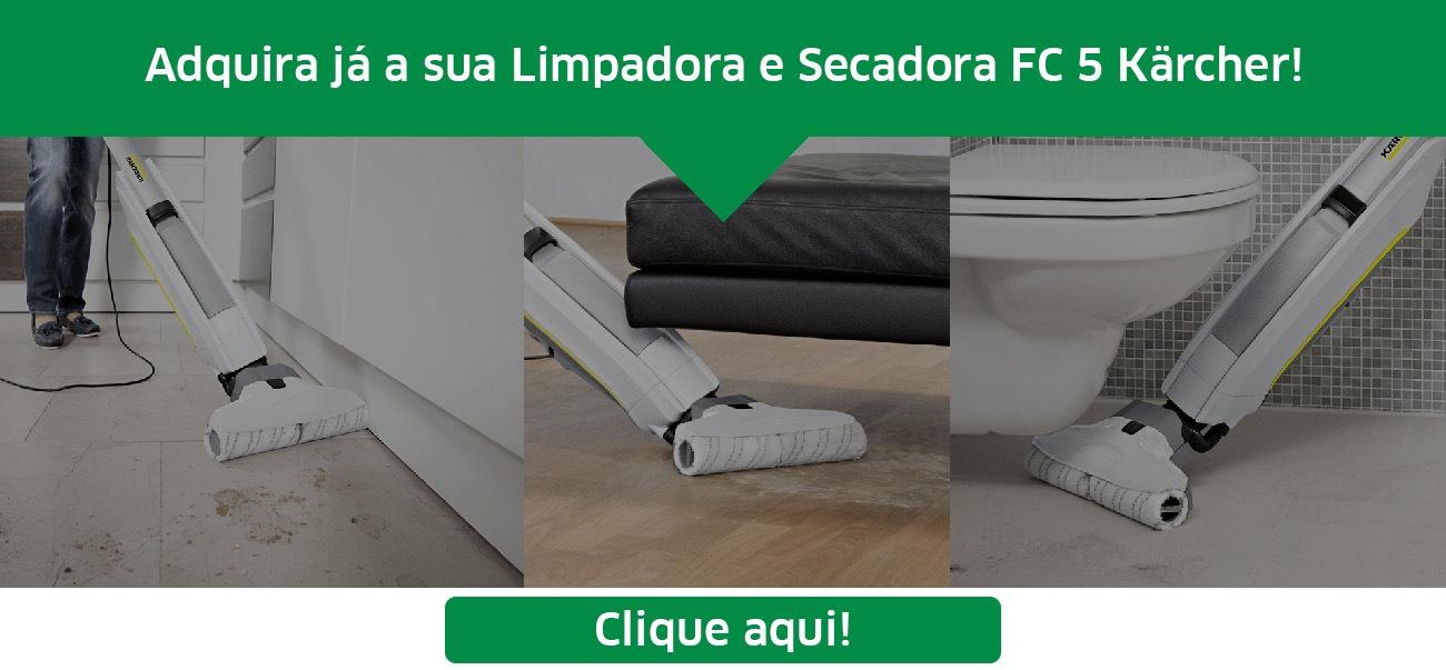 Comprar Limpadora e Secadora de Pisos FC 5 Kärcher