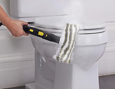 limpeza de banheiro com vapor