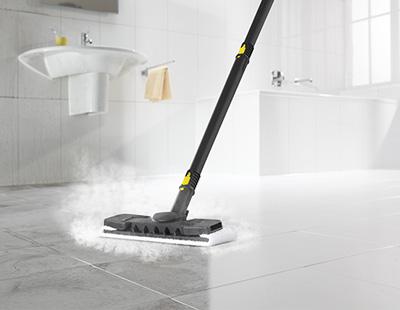 limpeza de piso com vapor